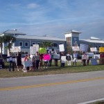 Taxpayers picket Children's Services Council for Giving Tax Dollars to Planned Parenthood